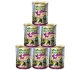 Dehner Best Nature Katzenfutter Adult, Mittelmeer, Pute und Lamm, 6 x 400 g (2.4 kg)
