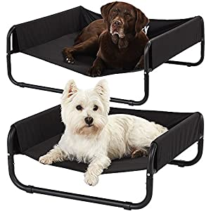 Bunty-Elevated-Sided-Dog-Bed-Portable-Waterproof-Outdoor-Raised-Camping-Pet-Basket