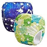 008face13 Storeofbaby Pañales reutilizables bebé pañales lavable pañales de tela  cubierta para niños niñas