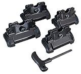 Thule 184056 - Kit per il montaggio di sistema portapacchi, 4 pezzi + accessorio di montaggio 52577, compatibile con KIA Sorento 5-dr SUV