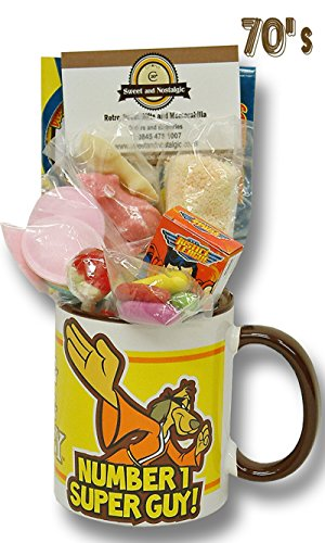 Hong Kong Phooey Mug with a Fanriffic Selection of 70'sSweets 630gms