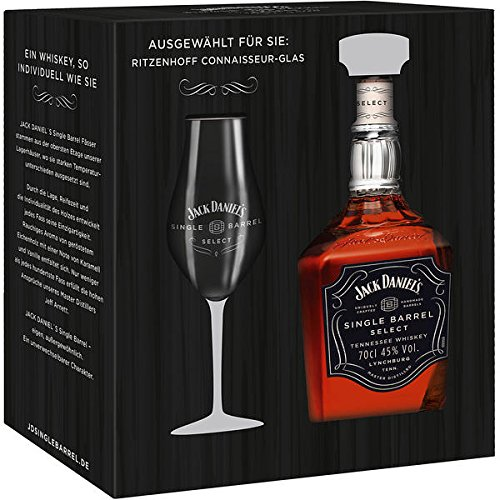 jack-daniels-single-barrel-45-vol-70cl-with-ritzenhoff-connaisseur-glas-gift-set