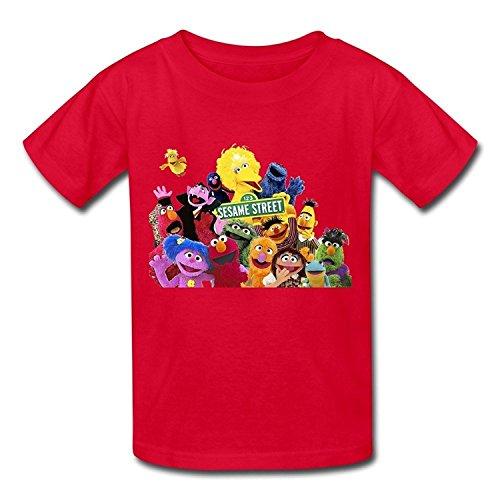 Funny Sesame Street Kid's Boys Girls T Shirt
