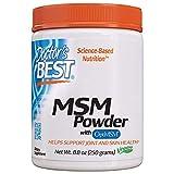 Doctor's Best | MSM in polvere vegana con OptiMSM | 250 g | senza glutine | senza soia