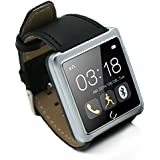 Smartwatch U10 WiFi Bluetooth compatible impermeable deporte llamada Smart Watch recordó sistema IOS/Android , silver