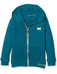 TOM TAILOR Kids Jungen Sweatshirt Cosy Sweatjacket with Contrast