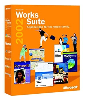 Works Suite 2002 Cd (Word, Money, Autoroute, Encarta, Picture It) 0