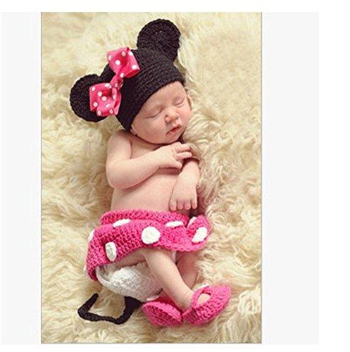 orenes Baby Boy Häkelarbeitknit Hut Kostüm Foto Fotografie Prop Outfits (Studio Qualität Kostüme)