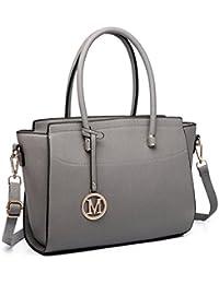 95702bc579 Miss Lulu Borsa donna alla moda Borsa a mano grande Borsa a tracolla  elegante borsa messenger