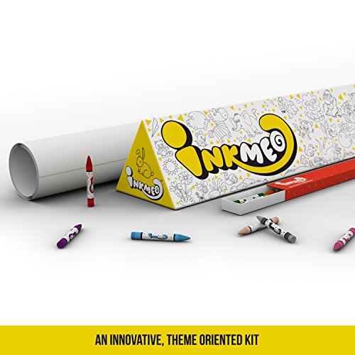 Inkmeo - Animals Colouring Roll
