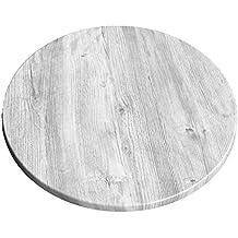 Tischplatte rund weiß  Suchergebnis auf Amazon.de für: tischplatte rund 60 cm