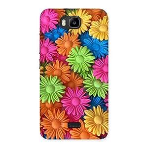 Art Sunflower Print Back Case Cover for Honor Bee