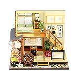 Häuser Diy Puppenhaus Miniatur Puppenhaus Kits DIY Holz Mini Haus