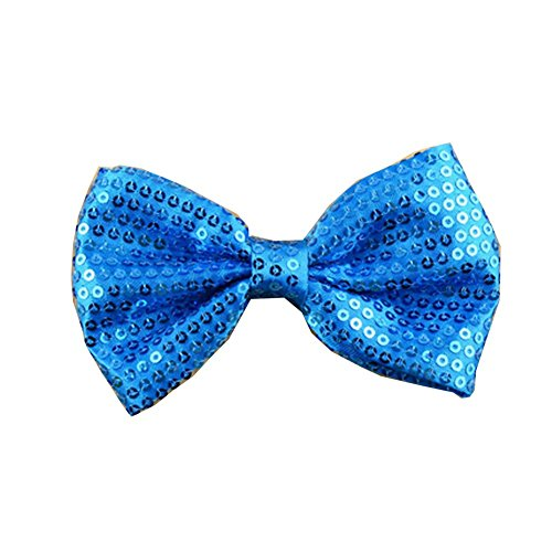 Surker 1 pcs clip filles Kid Fille de broderie Paillettes Bow Hair