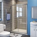 1200mm Sliding Shower Door Modern Bathroom Shower Enclosure Cubicles
