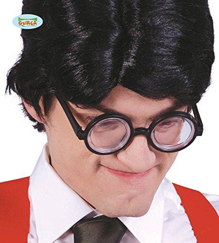 Runde Nerd Brille mit extra dicken Gläsern