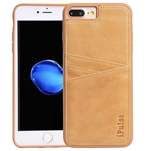 Full-grain-leder-shell (iPulse iPhone 7Plus echte italienische Full Grain Schutzhülle aus Leder)