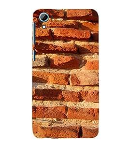 EPICCASE Red brick wall Mobile Back Case Cover For HTC Desire 826 (Designer Case)