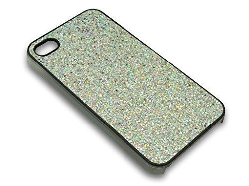 Sandberg-Coque scintillante pour iPhone 4/4S blanc