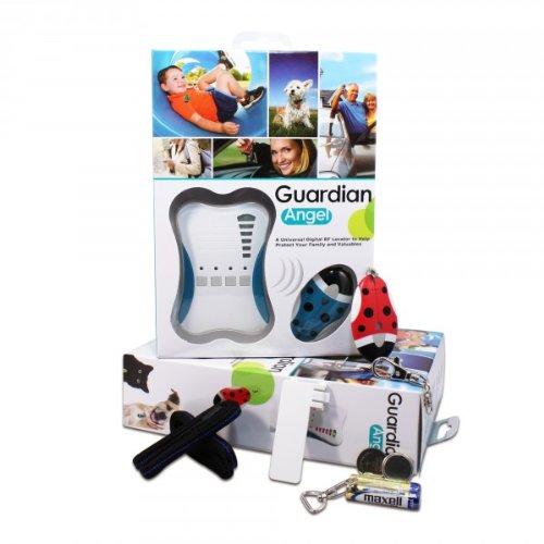 Guardian Angel für 3 Kinder; Kinderfinder, Haustierfinder, Allesfinder mit Alarm, Diebstahlschutz
