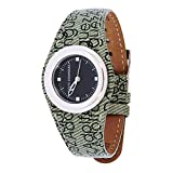 Adolfo Dominguez Watches 69187 - Reloj de Señora cuarzo correa piel Verde