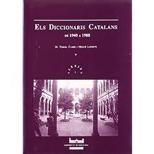 Els diccionaris catalans -de 1940 a 1988- (Lexis)
