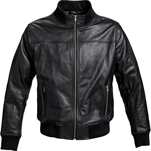 *Motorradjacke Spirit Motors Komfort Lederjacke 1.0 schwarz XL*