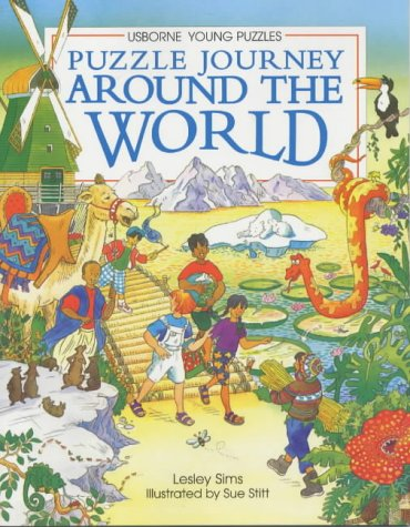 Puzzle Journey Around the World (Usborne Young Puzzle Adventures) - Usborne Adventures Puzzle