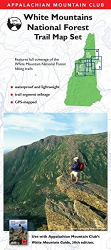 AMC White Mountains National Forest Trail Map Set (Appalachian Mountain Club White Mountain Trail Maps)