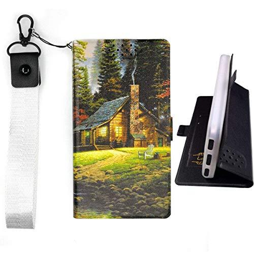 Lovewlb Hülle für Tp-Link Neffos C7a Hülle Flip PU-Leder + Silikon Cover Case Fest 360° Schutz Home