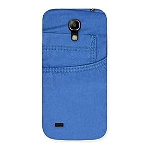 Impressive Blue Jeans Back Case Cover for Galaxy S4 Mini
