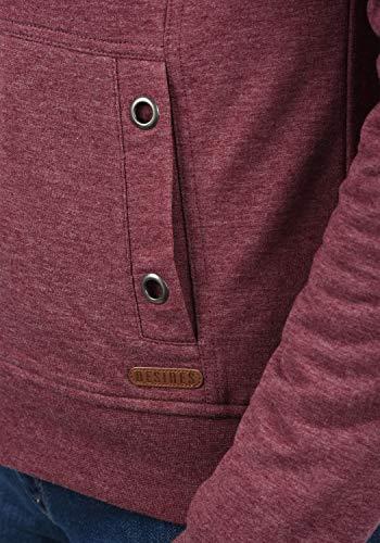 DESIRES Mandy Pile Damen Sweatshirt Pullover Pulli Mit Teddy-Futter, Größe:XS, Farbe:Wine Re P (P8985) - 4