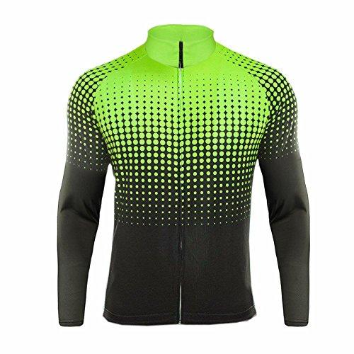 UGLYFROG #11 Radsport Trikots Lange Ärmel Sport & Freizeit Shirts Frühjahr-Herbst Style (Condor-anzug)