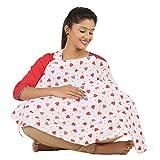 #10: bortherbaby poplin feeding apron/nursing cover/feeding cloak/maternity cover(hrt)