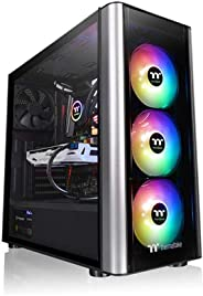 Thermaltake CA-1M7-00M1WN-00 Level 20 MT Motherboard Sync ARGB ATX Mid Tower Gaming Computer Case with 3 120mm ARGB 5V Mother