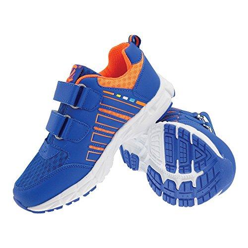 GALLUX - Kinder Sneaker Schuhe Jungen Mädchen Blau