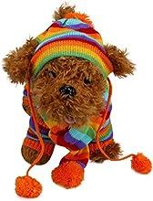 Sannysis kit de ropa accesorio para mascotas calcetines largos, Sombrero y Bufanda