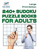 240+ Sudoku Puzzle Books for Adults Large Print Edition