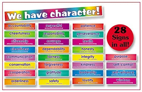 Character Signs! Bulletin Board