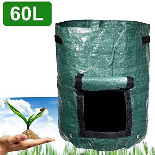Bolsa de almacenamiento de compost orgánico Herramientas de conversión de desechos verdes Patio Jardín Suministros