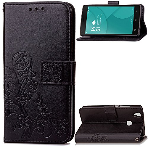 doogee-x5-max-doogee-x5-max-pro-case-leather-ecoway-clover-embossed-patterned-pu-leather-stand-funct