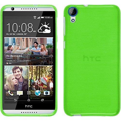 TBOC® Grün Gel TPU Hülle für HTC Desire 820 Ultradünn Flexibel Silikonhülle