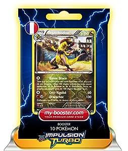 TRANCHODON holo reverse 111/162 160PV XY08 IMPULSION TURBO - Booster de 10 cartes Pokemon francaises my-booster