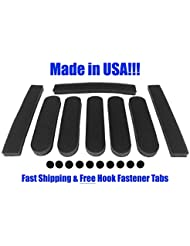 Replacement Universal Foam Pads Kit 5/16 For Giro Bell Specialized Trek Fox Schwinn Limar and More Bike Cycling Helmets by HFK