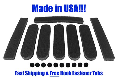replacement-universal-foam-pads-kit-5-16-for-giro-bell-specialized-trek-fox-schwinn-limar-and-more-b