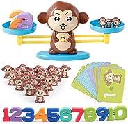 Mumfactory Monkey toys Number Balance Math Games Preschool Educational Toys Early Math Teaching Tool Counting