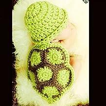 PIXNOR colorfulbags easyworld outlet tortuga recién nacido tortuga traje Panodia fotografía apoyo 0-6 mon