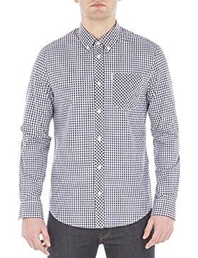 Ben Sherman Ls Core Gingham Shirt, Camisa Casual para Hombre