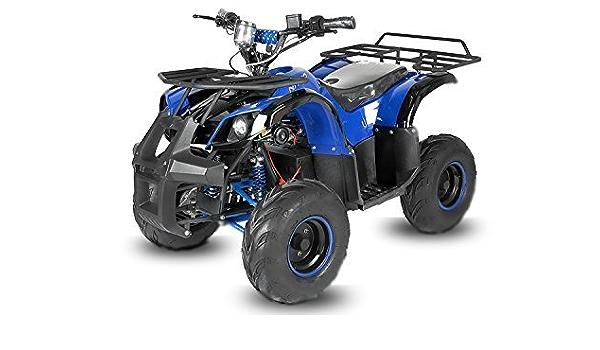 blu Eco Toronto 1000W 48V 20A 7 Quad Elektroquad Midiquad Atv Quad bambini