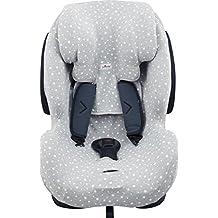 Funda para silla de coche Be Cool, Thunder- Foppapedretti Isodinamik-Nurse Tropic JANABEBE® White star
